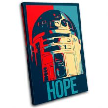 Sci Fi Iconic Film Hope Abstract - 13-6096(00B)-SG32-PO